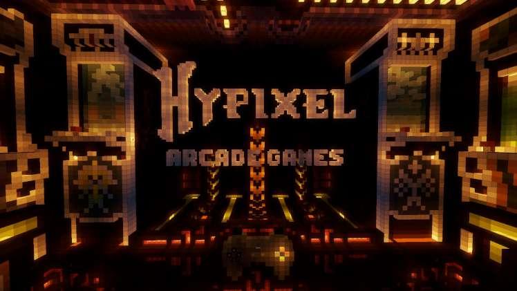 Игра на сервере Hypixel